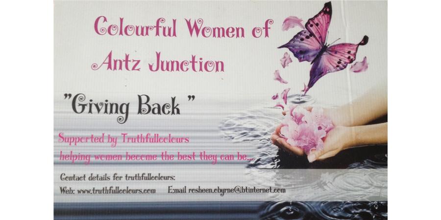 Colourful Women of Antz Junction