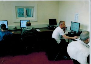 A Basic Computer Skills session in Swinton