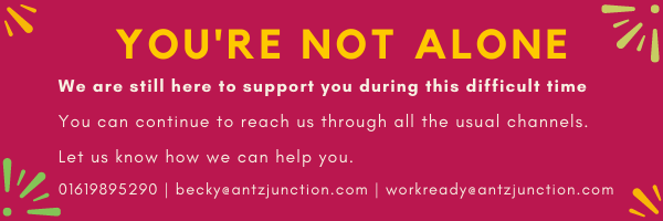 You're not alone Antz Junction is still here to support you!